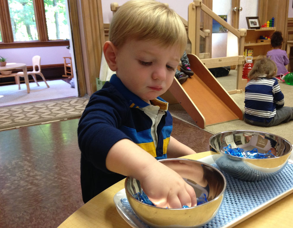At Work in the Montessori Classroom